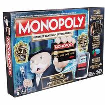 Jogo Tabuleiro Original Monopoly Ultimate Edition Da Hasbro