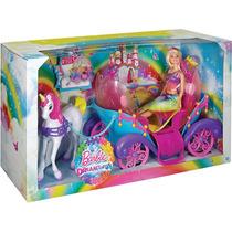 Barbie Fan Carruagem Com Princesa Mattel Unidade
