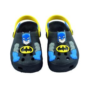 Babuche Infantil Baby Plugt Batman