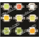 Super Power Led Chip10w 10 6500k 5 Ful Fonte 30a 12v