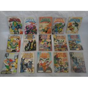 Coleção Completa 67 Gibis Liga Da Justiça Ed Abril