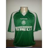 Camisa Palmeiras Original Diadora Rhumell Antiga - 37