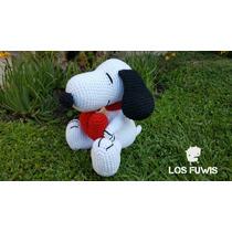 Snoopy Muñeco Amigurumi Tejido Crochet