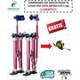 Zancos De Aluminio Rojos, Durlock, Robot Led, Envío Gratis