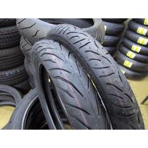 Par De Pneu P/ Moto Pirelli Super City 60/100-17 + 80/100-14