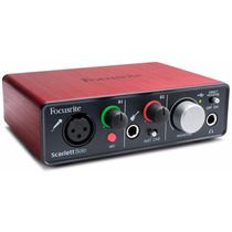 Focusrite Scarlett Solo G2 - Interfaz De Audio Usb