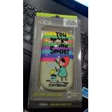 Capa Case Smile Samsung Galaxy Fame Azul
