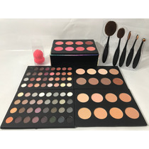 Maleta Kit De Maquiagem Completa Jasmyne 94 Itens + Pinceis