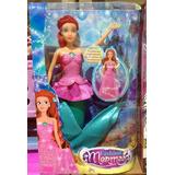 Sirena Princesa Fashion Mermaid Original Jugueterias Random