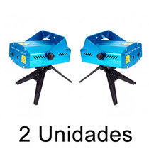 Kit 2 Projetor Laser Holográfico Luzes Festa Pronta Entrega