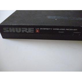 Receptor D Microfone Sem Fio Shure Betal4-diversity Wireless