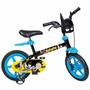 Bicicleta Infantil Menino Aro 12 Dc Batman Idade + 3 Anos