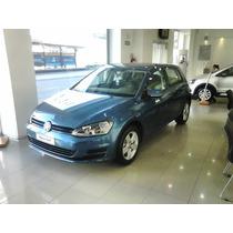 Vw Volkswagen Golf 1.6 Trendline 110cv -no Gol 208 308 Fox