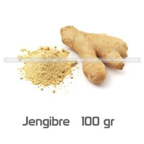 Jengibre Molido Polvo 100 Gr 2clicmx