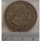 Colección 2 Monedas Peso De 50´s Y 60´s Plata .100