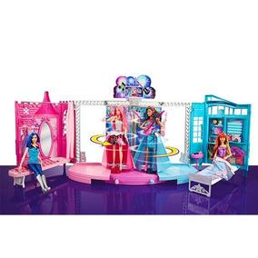 Barbie Campamento Pop Concierto 2 En 1 Mattel Ckb78