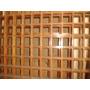 Panel Madera Decorativa De Cedro En Grilla. Liquido!!!