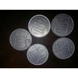 Lote Monedas 500 Australes 1990 1991 Coleccion