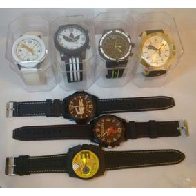 Relógio Masculino Silicone Kit/lote 10 Atacado/revenda+caixa
