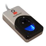 Lector Huella Digital Persona Dp4500 Seguridad Usb 2.0 Gris