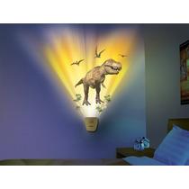 Lampara Wild Walls Dinosaurio T-rex Sonido Uncle Milton