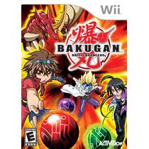 Nintendo Wii Bakugan Battle Brawlers Nuevo Envio Gratis
