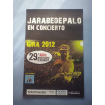Jarabe De Palo Poster Promo Oficia Blackberry 2012 Pau Dones