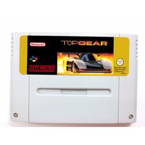 Top Gear 1 Em Português Para Super Nintendo Original