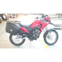 Suporte Lateral Para Baus Givi Honda Xre190