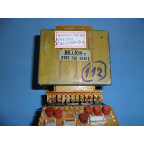 Transformador De Força Micro System Philips Fw-c870/19