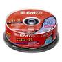 Emtec Cd-r 80min 700mb 1x-52x Pino C/25 Videolar Lacrado!!!