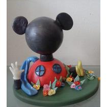 La Casa De Mickey Mouse Adorno Para Torta