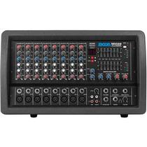 Consola Mixer Potenciado Moon 5508 Usb Cabezal 8 Ch 200w Rms