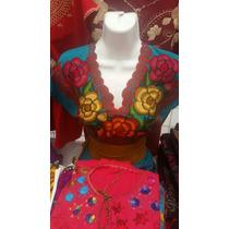 Blusa Bordada Artesanal Chiapas