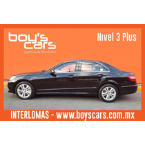 Mercedes Benz E500 Avantgarde 2011 Blindado Nivel 3 Plus