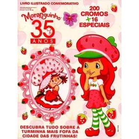 Moranguinho 35 Anos - Album Completo Figurinhas P/ Colar