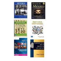 Libros Pdf De Historia: Universal Y De Mexico En Paq