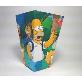 Los Simpson X10 Conos Pochocleros+10 Valijitas