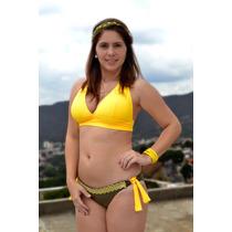 Traje De Baño Para Dama Faja Ancha T: M Y L Playa Iguanas