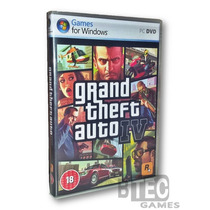 Gta 4 Pc - Grand Theft Auto Iv (4 Dvd