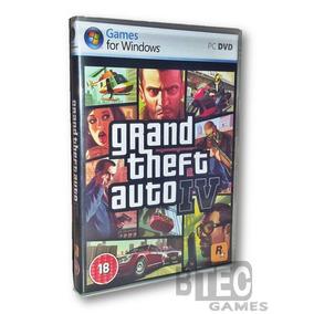 Gta 4 Pc - Grand Theft Auto Iv (4 Dvd