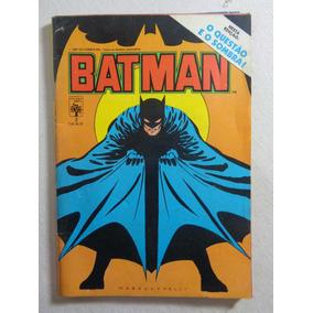 Revista Quadrinhos Batman Gibi 1987