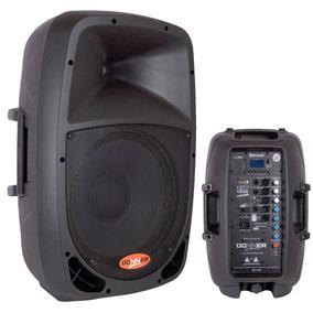 Caixa Som Ativa Donner 12 Usb Bluetooth 200 W Rms (100+100w)