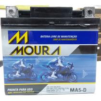 Bateria Bros 160 Nxr 12v 5ah Moura Selada Gel Ma5-d Ytz6v