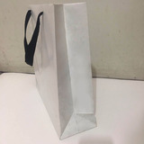 Bolsa De Cartulina Blanca 30x30x10cm Pack 100. Oferta