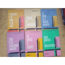 6 Libros Lecciones Matemáticas Sominski Argunov Boltianski