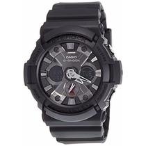 Casio G Shock Ga201-1a Antimagnetico Hora Mundial Wr200m