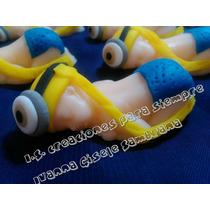 Souvenir Bebé Minnion Porcelana Fria