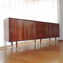 Trinchador O Credenza Van Beuren Años 60s Vintage Caoba