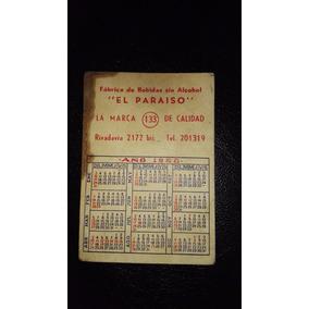 Almanaque Papel Año 1960- Coleccionable